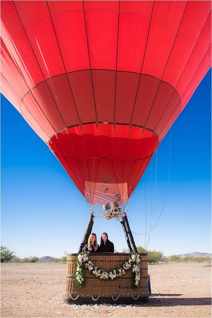 Stephanie and Amanda girlboss hot air expeditions
