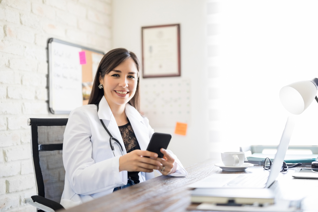 wellness website mobile experience for patients